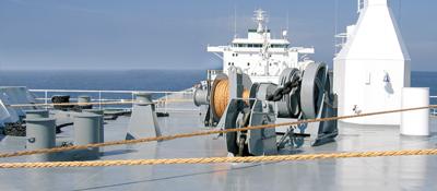 Loss Of Anchors And Chain Gard