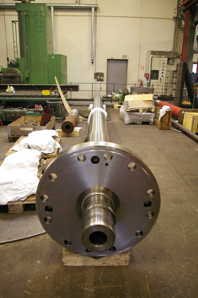 Hull and machinery - 'Cold straightening' of bent shafts - GARD