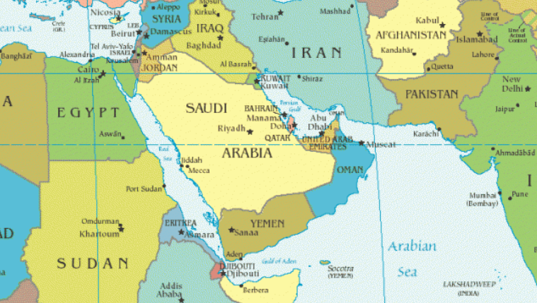 where is bahrain located on a middle east map Gard Alert Bahrain And Saudi Arabia Port Restrictions Gard where is bahrain located on a middle east map