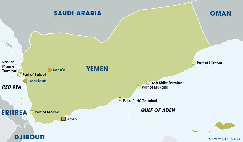 Yemen - port situation - GARD
