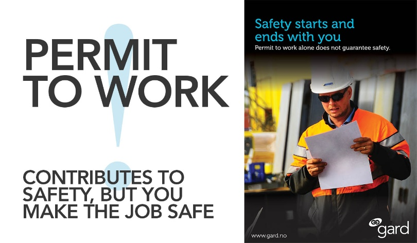 A permit to work contributes to safety but you make a job... - GARD